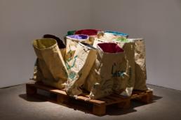Amy Malbeuf, Glitter Sacs, 2009